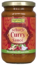 Scharfe Curry Sauce
